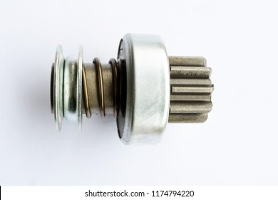 Bendix Drive starter. Detail for starter of automobile. starter drive for motor starter