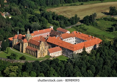 Benedictine abbey Kladruby in Bohemia