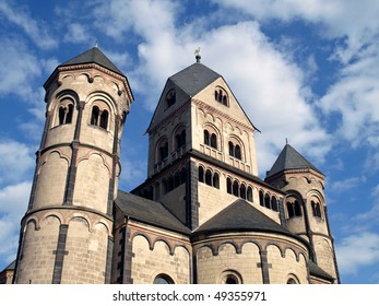 Benedictine abbey Maria Laach, Germany