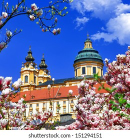 Benedictine abbey in Melk, Austria