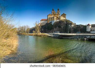 Benedictine Abbey of Melk in the Wachau Austria
