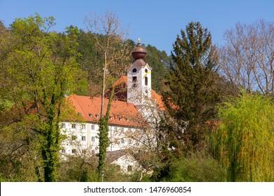 Benedictine Abbey Sankt Walburg in Eichstaett (Bavaria, Germany)