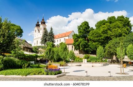 Benedictine abbey in Tihany, Hungary