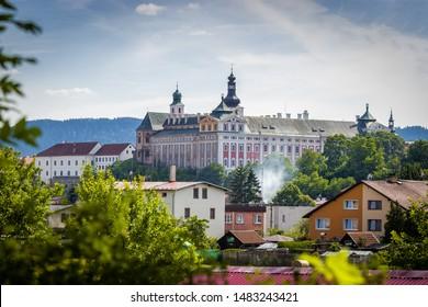 Benedictine monastery Broumov in the Czech Republic