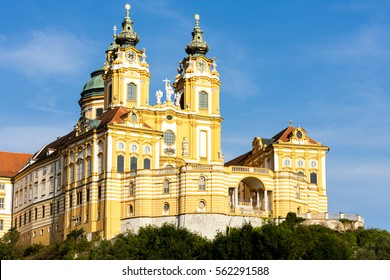 benedictine monastery in Melk, Lower Austria, Austria