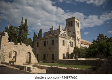 The benedictine monastery on the island of Lokrum, Dubrovnik, Croatia