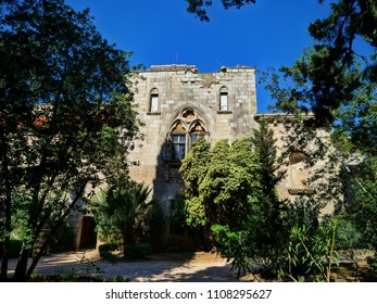 Benedictine Monastery: ruins of Lokrum, Dubrovnik, Croatia