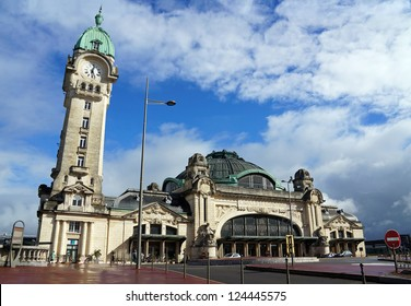 Benedictins train station in the city of Limoges, Limousin, France