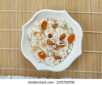 Bengali Pulao, Kishmish Kaju Pulao, rice dish