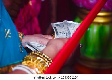 Bengali wedding gate money Program