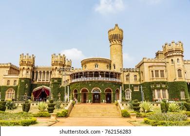 Bengaluru- View to Bengaluru Palace, Bengaluru, Karnataka, India, 19.02.2014