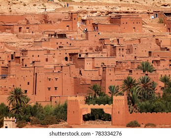 Aït Benhaddou - Ouarzazate the fortified village between the Sahara and Marrakech -UNESCO World Heritage Site