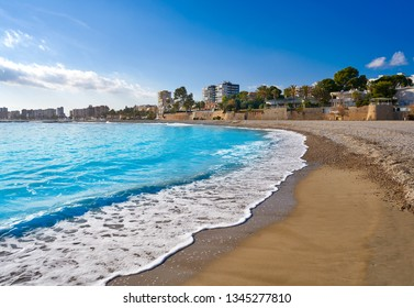Benicassim Els Terrers playa beach in Castellon of Spain also Benicasim