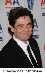 Benicio Del Toro at the 18th Annual BAFTA/LA Britannia Awards, Hyatt Regency Century Plaza Hotel, Century City, CA. 11-05-09
