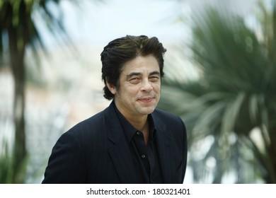 Benicio del Toro attends ' 7 Dias en la Habana' Photocal at Palais des Festivals on May 23, 2012 in Cannes, France.