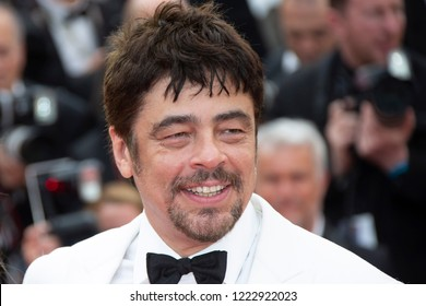 Benicio Del Toro  attends the screening of 'Everybody Knows (Todos Lo Saben)' and opening gala during the 71st annual Cannes Film Festival at Palais des Festivals on May 8, 2018 in Cannes, France.
