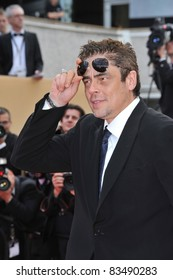 "Benicio Del Toro at the premiere screening of ""Wall Street: Money Never Sleeps"" at the 63rd Festival de Cannes. May 14, 2010  Cannes, France Picture: Paul Smith / Featureflash"