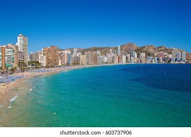 Benidorm, Costa Blanca, Alicante, Spain