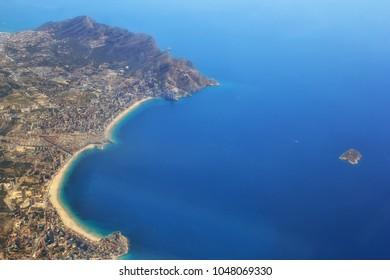 Benidorm's blue water and beaches