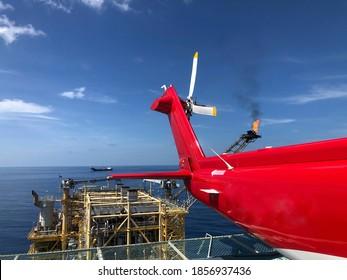 Offshore-Transporthubschrauber auf Offshore-Hubschraubern