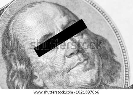 Benjamin Franklin Portrait Closeup His Eyes Stock Photo Edit Now