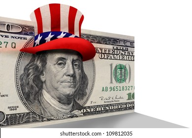 Benjamin Franklin Ready For Party.