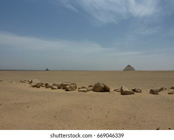 Bent Pyramid and black pyramid of Dahshur