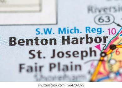 Benton Harbor. Michigan. USA