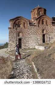 Berat , old small city in Albania