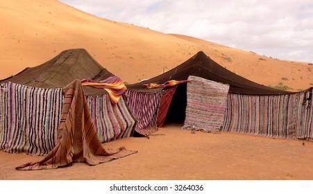 Berber tents, Morocco