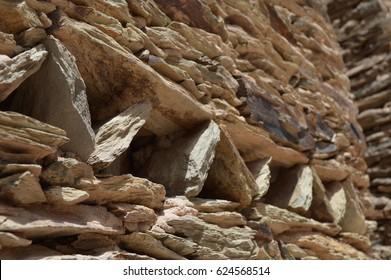 berber wall close up