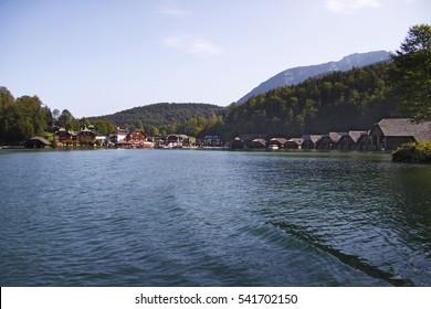 Berchtesgaden Lake Koenigssee, Germany