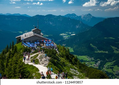 Berchtesgarden, Germany, July 2017: The Eagle Nest in summer