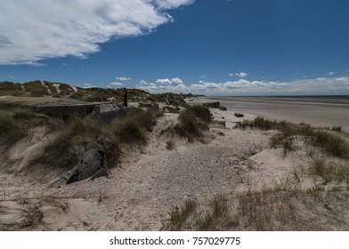 Berck (Berck-sur-Mer) is a commune in northern France (department Pas-de-Calais, region Hauts-de-France). It is famous for its huge expanse of sandy beach and ist impressive dunes.