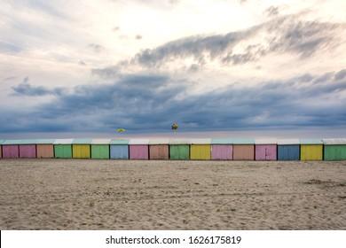 Berck-sur-Mer, Opale coast, in France