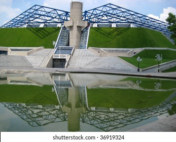 Bercy stadium in Paris