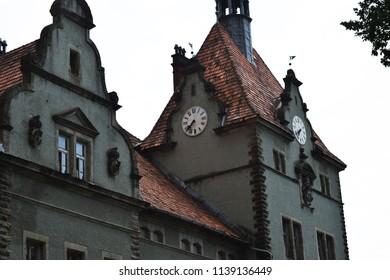 "Beregvar Castle is the romantic residence of the Schönborn counts. Today it is used as a sanatorium ""Karpaty"". Located in the village of Karpaty, Mukachevo district, Zakarpattia, Ukraine."