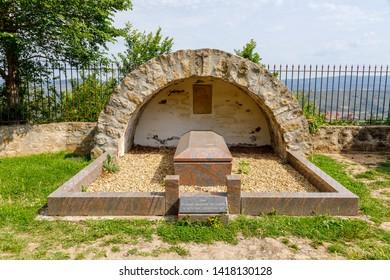 Berenger Sauniere Grave, Rennes le Chateau  France