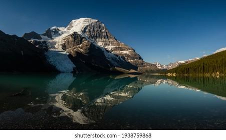 Berg Glacier at Berg Lake in Mt. Robson Provincial Park, British Columbia, Canada - Shutterstock ID 1938759868