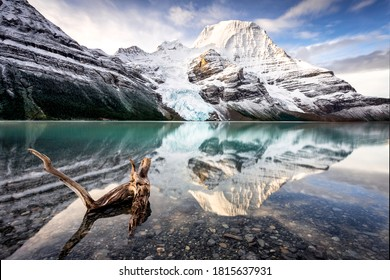 Berg Lake and Mount Robson - Shutterstock ID 1815637931