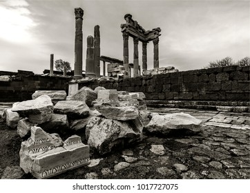 Bergama ancient city ,Bergama;izmir,Turkey