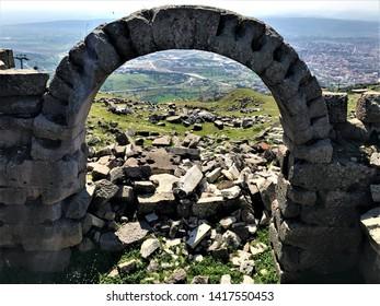 Bergama city - ruins - Turkey