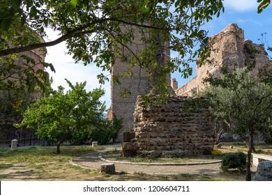 Bergama (Pergamon), Izmir / Turkey - 10/15/2018 : The Temple of Egyptian Gods (Serapeion) in Bergama