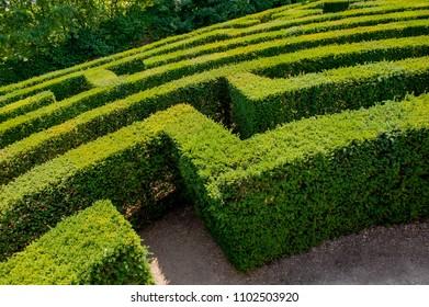 bergamo: botanical garden