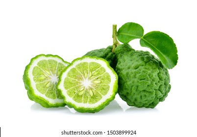 Bergamot isolated on white background