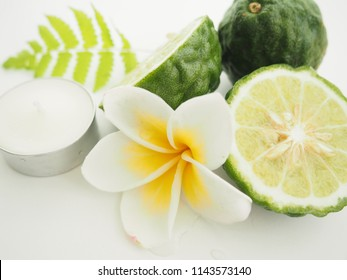 Bergamot and Plumeria flower for spa deodorant