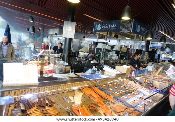 Bergen 30 May Fish Market Bergen Stock Photo (Edit Now
