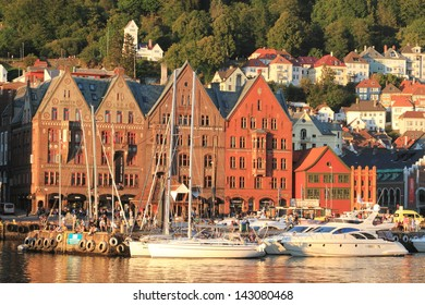 Bergen is a coastal town in the south-western Norway, the second most populous country after the capital Oslo. green city with parks, fountains Peace modern museums galleries