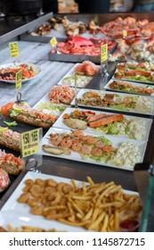 Bergen Fish Market in Bergen Norway 21-09-2013