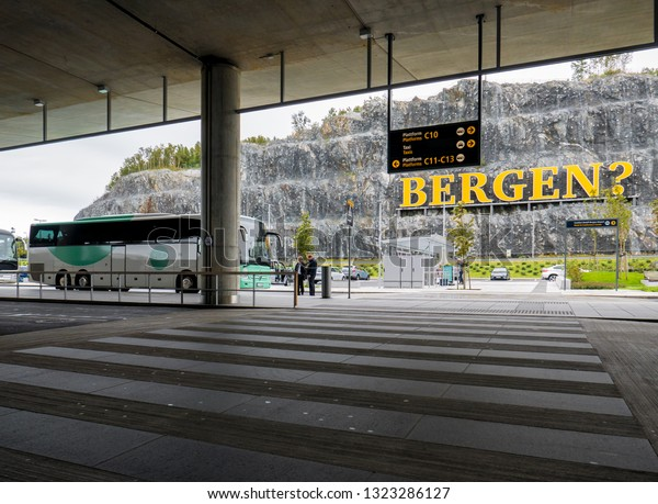 bergen airport to city